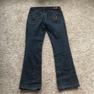 Ag Adriano Goldschmied Jeans - AG The Angel Dark wash 26r